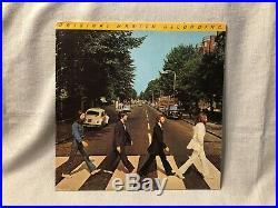 The Beatles Abbey Road LP Vinyl Album Capitol Records MFSL 1-023 EX/VG mofi