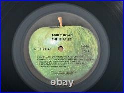 The Beatles Abbey Road RARE 1969 Apple Records 1st Press Vinyl LP withMisprint