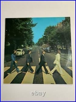 The Beatles Abbey Road Vinyl LP 1969 UK 1st Press Misprint VG