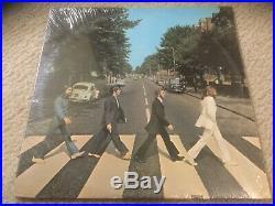 The Beatles Abbey Road Vinyl Record Lp Sealed Apple Original Sewer Cover No Maj