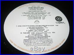 The Beatles-Abbey road LP, MFSL US 1979, ltd, remastered, megarar, Vinyl mint