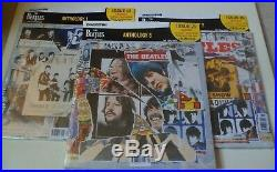 The Beatles Anthology 1,2 And 3 Vinyl Record Brand New Sealed Deagostini