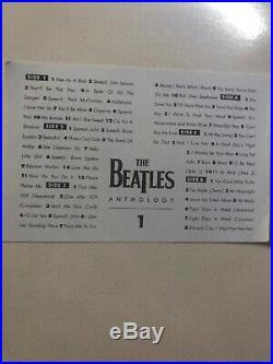 The Beatles Anthology, Vol. 1, Vol 2 & Vol 3. New Sealed LP Vinyl Record Album
