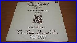 The Beatles Australian 10th Anniversary 1963-73 Limited Ed. Vinyl LP Record OOP