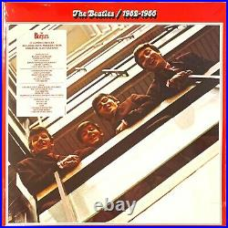 The Beatles Beatles 1962-1966 Red Collection LP Vinyl Album Record Sealed