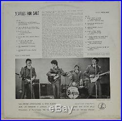 The Beatles, Beatles For Sale, (P)1965, Vinyl LP Record, Excellent (B)