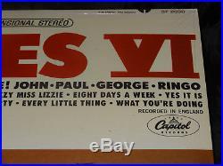 The Beatles Beatles VI SEALED USA 1965 1ST PRESS RIAA 6 VINYL LP With NO BARCODE