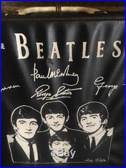 The Beatles Black Air Flight Vinyl Lunchbox