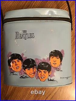 The Beatles Brunch Bag 1965 girls vinyl Aladdin Ind. USA never used Mint- cond