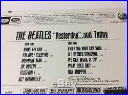 The Beatles Butcher Cover Yesterday and Today ST-2553 vinyl LP MINT with letter