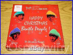 The Beatles Christmas Records Coloured vinyl 7x 7 Box Set Sealed Fan Club