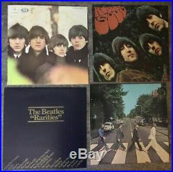 The Beatles Collection 13 Vinyl Records Blue Box Set
