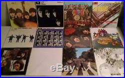 The Beatles Collection 14 LP Vinyl Record Blue Box Set UK MINT 1978 Original