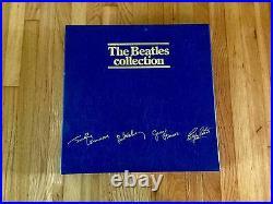 The Beatles Collection BLUE BOX, 13 Titles LP/33 VINYL RECORDS