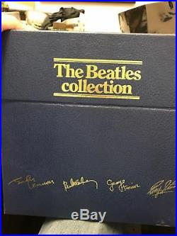 The Beatles Collection Blue Box Set 1978 UK Pressing 14 x Vinyl LP Records OOP