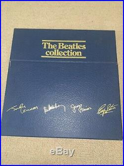 The Beatles Collection Blue Box Vinyl With All INSERTS Good Condition