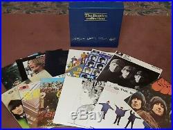 The Beatles Collection (British Blue Box), Vinyl UK LP Box Set NM