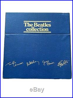 The Beatles Collection Vinyl 14 LP Records Blue UK Box Set-VERY GOOD CONDITION