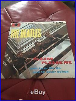 The Beatles Collection Vinyl records (Blue Box set LPs Collection from the 70s)