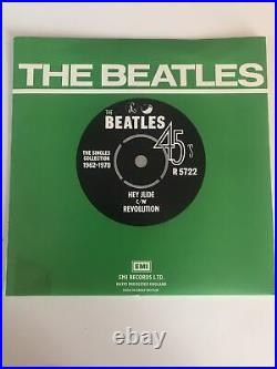 The Beatles Collection, set of 24 Vinyl 7 inch Singles 1962-1970