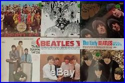 The Beatles Complete set 18 American Studio vinyl LPs new, still sealed