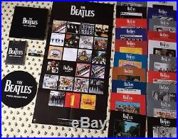 The Beatles Deagostini Vinyl Collection Accessories Bundle NO RECORDS