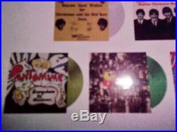 The Beatles Fan Club Christmas Flexi Disc 1963-69 Coloured 7 Vinyl New Sealed
