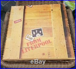 The Beatles From Liverpool The Beatles Box 8 Vinyl LP Box Set -N. M condition