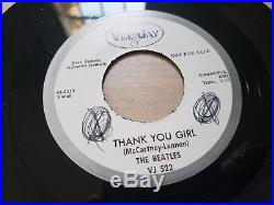 The Beatles From Me To You Promo 7 Vinyl ORIGINAL- butcher my bonnie ask me why