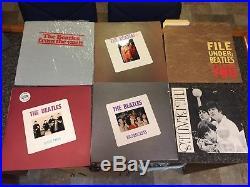 The Beatles'From The Vault' 8 LP Vigotone Vinyl Box Set #98 of 300 +Tshirt