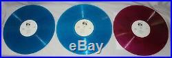 The Beatles Get Back Journals LP Colored Vinyl Boxed Set 1st Pressing