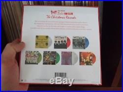 The Beatles Happy Xmas Christmas Beatle People NEW Sealed 7 Color Vinyl 45 Box