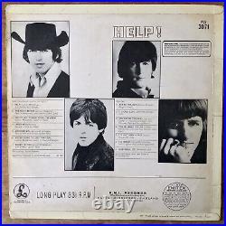 The Beatles Help (Parlophone PCS 3071) 1965 1st UK Outline Stereo Vinyl Press