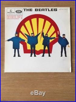 The Beatles'Help' (Shell) Rare Disc Vinyl