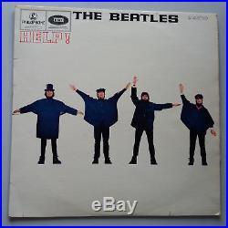 The Beatles Help Vinyl LP UK 1st Press Mono 1965 -2/-2 EX+/EX