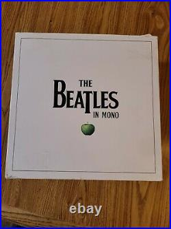 The Beatles In Mono 2014 vinyl box set with all sealed Lps Mint- cond Germany