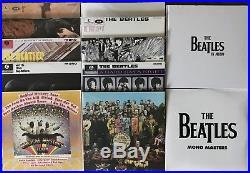 The Beatles In Mono Box Set Vinyl. Sgt Peppers White Album Out Of Print