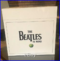 The Beatles In Mono Vinyl Box set LP Albums And Book Like New OOP! READ