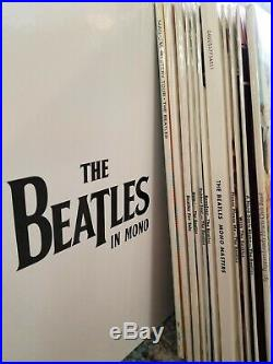 The Beatles In Mono Vinyl Box set LP Albums And Book (almost) Like New OOP