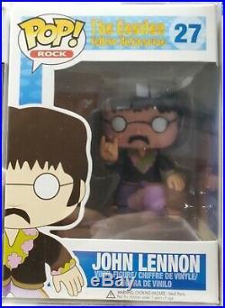 The Beatles John Lennon Funko Pop (Sealed Never Opened) Rare Item/vaulted