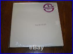 The Beatles LP White Album LIMITED WHITE VINYL SEALED