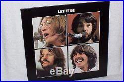 The Beatles Let It Be Apple AR 34001 Stereo Vinyl LP NM/NM- (Red Apple)