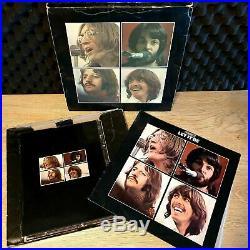 The Beatles Let It Be Box Set Australian LP Vinyl Record + Box and Book