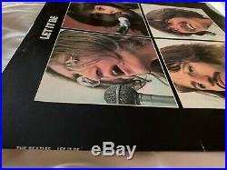 The Beatles Let It Be UK Apple Pressing Red Apple Sleeve -2U, -2U Vinyl