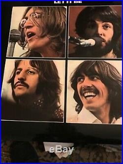 The Beatles Let It Be Vinyl Lp Album 7 45 Single And Get Back Collectable Book