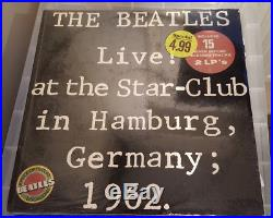 The Beatles Live at the Star Club in Hamburg US 2 Vinyl LP 1977 new sealed