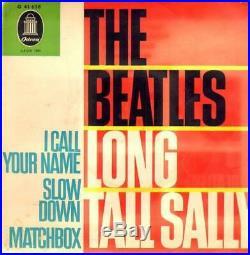The Beatles Long Tall Sally VERY RARE BEATLES Vinyl Single 7inch Odeon Recor