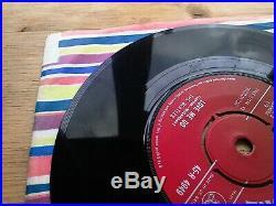 The Beatles Love Me Do 1N/1N 1st Press Very Good 7 Vinyl Record 45-R 4949