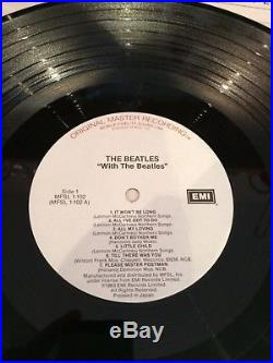 The Beatles MFSL The Collection x14 Original Master Recording Vinyl Record EX/NM