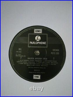 The Beatles Magical Mystery Tour Ex/ex 1976 Uk 1st Press Beat Vinyl Lp